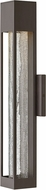 Hinkley 2854BZ Vapor Modern Bronze Halogen Outdoor Medium Wall Sconce