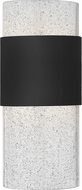 Hinkley 2890BK Horizon Modern Black LED Exterior Wall Sconce Lighting