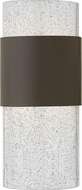 Hinkley 2890KZ Horizon Contemporary Buckeye Bronze LED Outdoor Wall Mounted Lamp