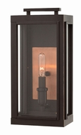 Hinkley 2910OZ Sutcliffe Modern Oil Rubbed Bronze Exterior Wall Sconce Light