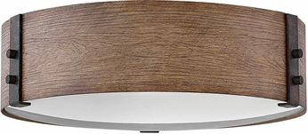 Hinkley 29203SQ Sawyer Modern Sequoia Outdoor Ceiling Light Fixture