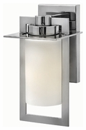 Hinkley 2920PS Colfax Polished Stainless Steel Finish 6  Wide Outdoor Lamp Sconce