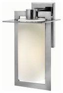 Hinkley 2924PS Colfax Polished Stainless Steel Finish 7.5  Wide Outdoor Wall Light Fixture