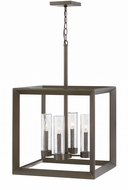 Hinkley 29304WB Rhodes Modern Warm Bronze Exterior Pendant Lighting Fixture