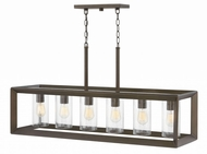 Hinkley 29306WB Rhodes Contemporary Warm Bronze Outdoor Island Lighting
