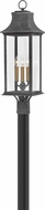 Hinkley 2931DZ Adair Aged Zinc Exterior Post Light