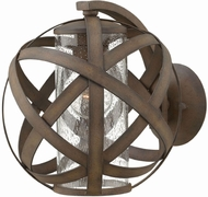 Hinkley 29700VI Carson Contemporary Vintage Iron Exterior Wall Lighting Sconce