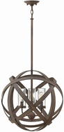Hinkley 29703VI Carson Modern Vintage Iron Outdoor Hanging Pendant Lighting