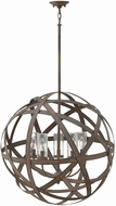 Hinkley 29705VI Carson Contemporary Vintage Iron Exterior Hanging Pendant Light