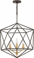 Hinkley 3023MM Astrid Modern Metallic Matte Bronze 20  Foyer Light Fixture