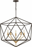 Hinkley 3025MM Astrid Modern Metallic Matte Bronze 28  Entryway Light Fixture