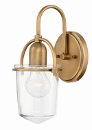 Hinkley 3030HB Clancy Contemporary Heritage Brass Wall Lighting Fixture
