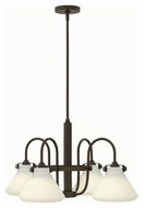 Hinkley 3040OZ Congress Oil Rubbed Bronze Finish 26.25  Wide Chandelier Light