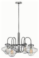 Hinkley 3041CM Congress Chrome Finish 16  Tall Chandelier Light