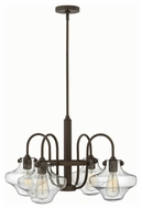 Hinkley 3041OZ Congress Oil Rubbed Bronze Finish 27  Wide Chandelier Lighting