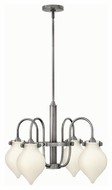 Hinkley 3042AN Congress Antique Nickel Finish 17  Tall Lighting Chandelier