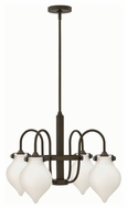 Hinkley 3042OZ Congress Oil Rubbed Bronze Finish 24.5  Wide Ceiling Chandelier