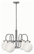 Hinkley 3043CM Congress Chrome Finish 16.25  Tall Chandelier Lighting