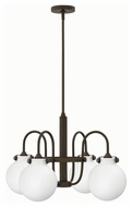 Hinkley 3043OZ Congress Oil Rubbed Bronze Finish 25.5  Wide Lighting Chandelier