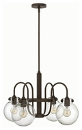 Hinkley 3044OZ Congress Oil Rubbed Bronze Finish 25.5  Wide Hanging Chandelier