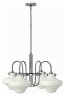 Hinkley 3045CM Congress Chrome Finish 16  Tall Lighting Chandelier