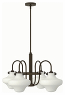 Hinkley 3045OZ Congress Oil Rubbed Bronze Finish 27  Wide Chandelier Lamp