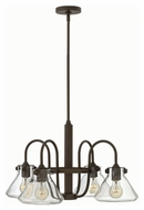 Hinkley 3046OZ Congress Oil Rubbed Bronze Finish 26.25  Wide Chandelier Light