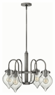 Hinkley 3047AN Congress Antique Nickel Finish 17  Tall Chandelier Lighting