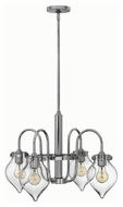 Hinkley 3047CM Congress Chrome Finish 17  Tall Chandelier Lamp