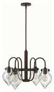 Hinkley 3047OZ Congress Oil Rubbed Bronze Finish 24.5  Wide Chandelier Light
