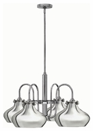 Hinkley 3048CM Congress Chrome Finish 15.5  Tall Chandelier Light