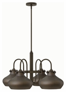 Hinkley 3048OZ Congress Oil Rubbed Bronze Finish 28  Wide Chandelier Lighting