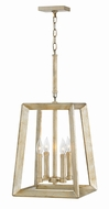 Hinkley 3104SL Tinsley Contemporary Silver Leaf Foyer Lighting