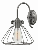 Hinkley 3113AN Congress Retro Antique Nickel Sconce Lighting