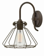 Hinkley 3113OZ Congress Retro Oil Rubbed Bronze Lighting Sconce