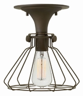 Hinkley 3114OZ Congress Vintage Oil Rubbed Bronze Flush Mount Lighting