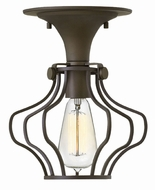 Hinkley 3116OZ Congress Vintage Oil Rubbed Bronze Home Ceiling Lighting