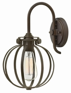 Hinkley 3118OZ Congress Retro Oil Rubbed Bronze Wall Light Fixture