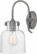 Hinkley 31700AN Congress Contemporary Antique Nickel Wall Sconce Lighting