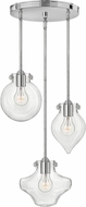 Hinkley 3198CM Congress Modern Chrome Multi Lighting Pendant
