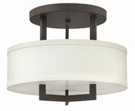 Hinkley 3200KZ Hampton Buckeye Bronze Overhead Light Fixture