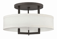 Hinkley 3201KZ Hampton Buckeye Bronze Overhead Lighting Fixture