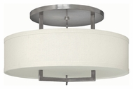 Hinkley 3211AN-LED Hampton Antique Nickel Finish 14.5  Tall LED Ceiling Light