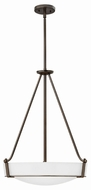 Hinkley 3222OB-WH Hathaway Olde Bronze Ceiling Lighting Fixture