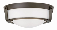 Hinkley 3223OB-WH Hathaway Olde Bronze Flush Mount Lighting