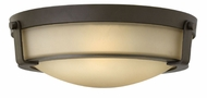 Hinkley 3225OB Hathaway Olde Bronze Flush Mount Light Fixture