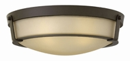 Hinkley 3226OB Hathaway Olde Bronze Flush Mount Ceiling Light Fixture