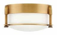 Hinkley 3230HB Colbin Modern Heritage Brass LED Ceiling Light Fixture