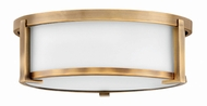 Hinkley 3241BR Lowell Contemporary Brushed Bronze 13  Flush Lighting
