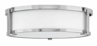 Hinkley 3243CM Lowell Contemporary Chrome 16  Flush Mount Lighting Fixture